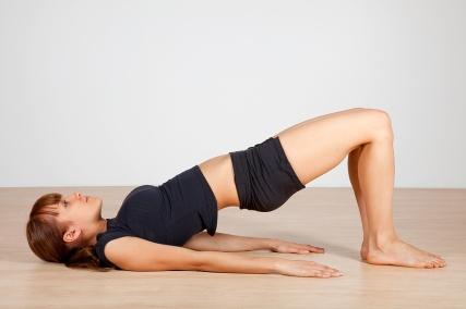 Yoga (Bridge Pose)