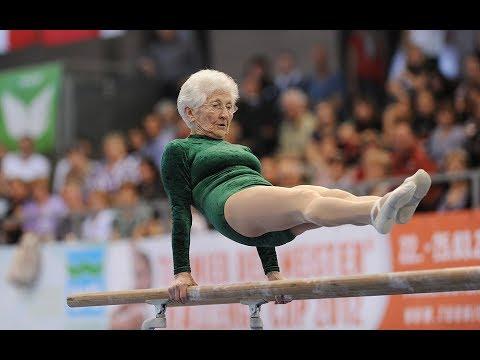 90 year old gymnast