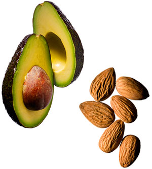 almonds-avocado