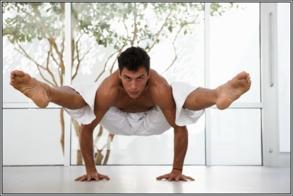 man yoga advanced