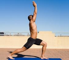 man yoga beginner