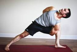 man yoga intermediate