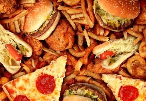 Food. Unhealthy food