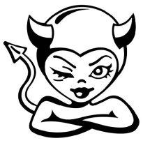 Devil winking