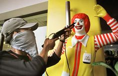 Should Ronald McDonald be Shot?