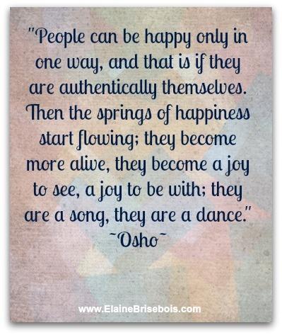 Osho happy quote