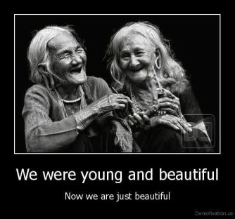 beautiful old women