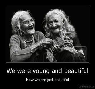 beautiful old women