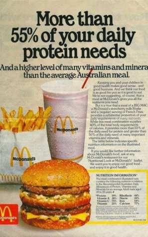 McDonalds Healthy
