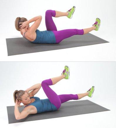 pilates obliques