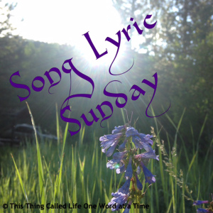 Song Lyric Sunday: Plan