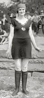 1920 swimming costume