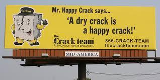 Dry crack
