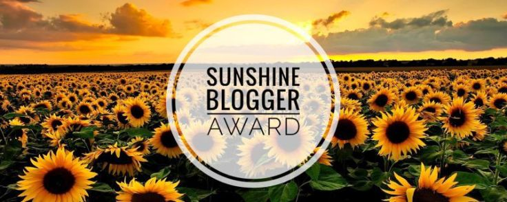 Sunshine Blogger Award (No. 4…I think)